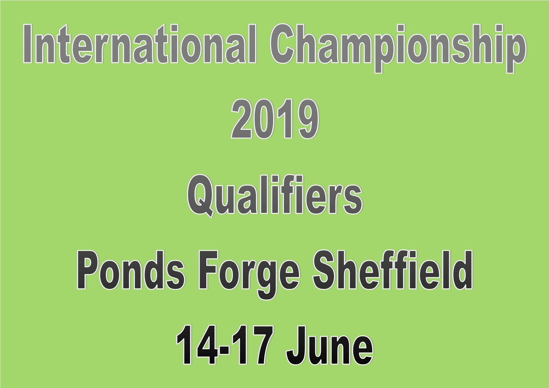International Championship 2019 Qualifiers