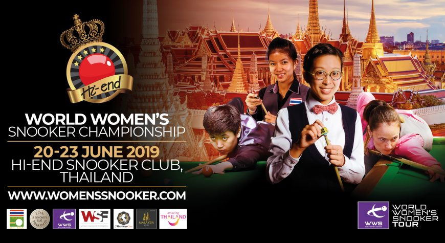 Poster for World Women's Snooker Championship