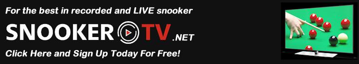 SnookerTV ad