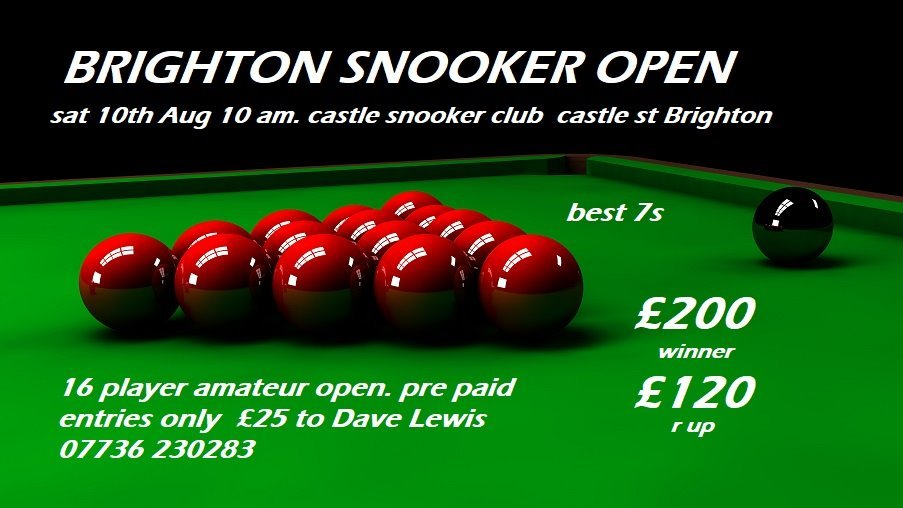 Brighton Amateur Snooker Open