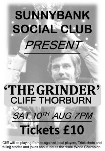 Cliff Thorburn at Sunnybank Social Club
