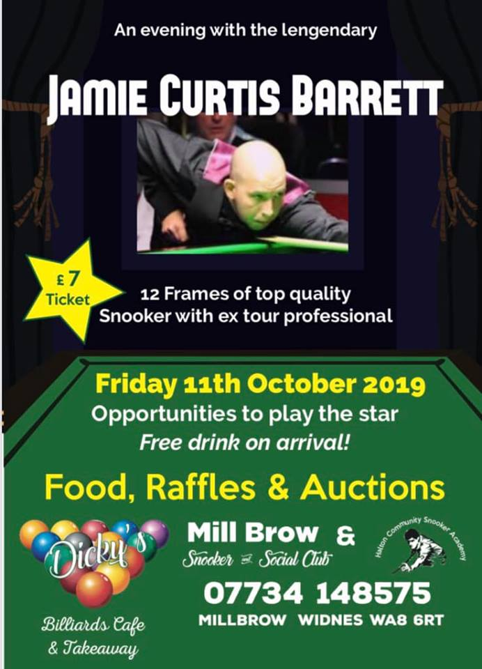 Jamie Curtis Barrett at Mill Brow