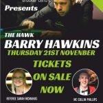 Barry Hawkins at Victoria Snooker Centre 21 November 2019