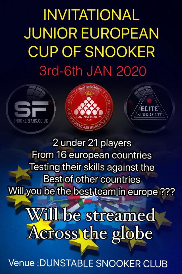 Invitational Junior European Cup of Snooker