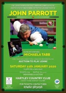 John Parrott at Hartley Country Club