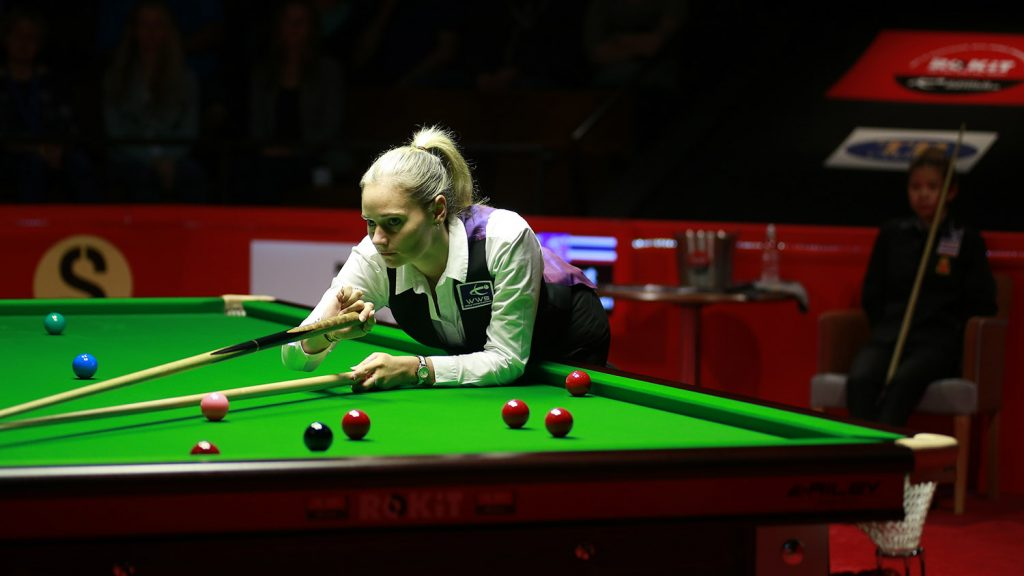 Reanne Evans at the Crucible Theatre