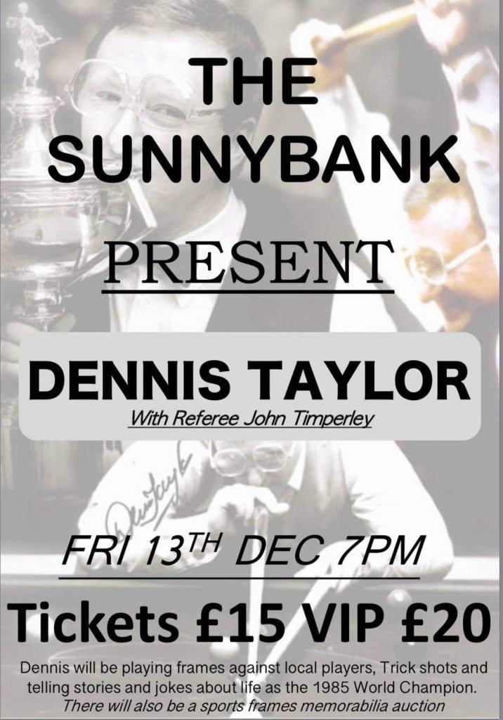 Dennis Taylor at Sunnybank