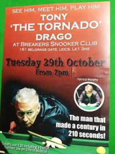 Tony Drago at Breakers