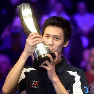 Thepchaiya Un-nooh at Oldham Snooker Academy