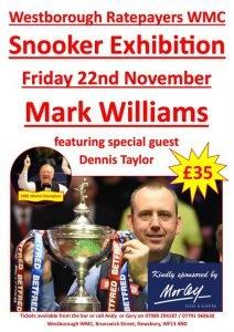 Mark Williams at Westborough WMC