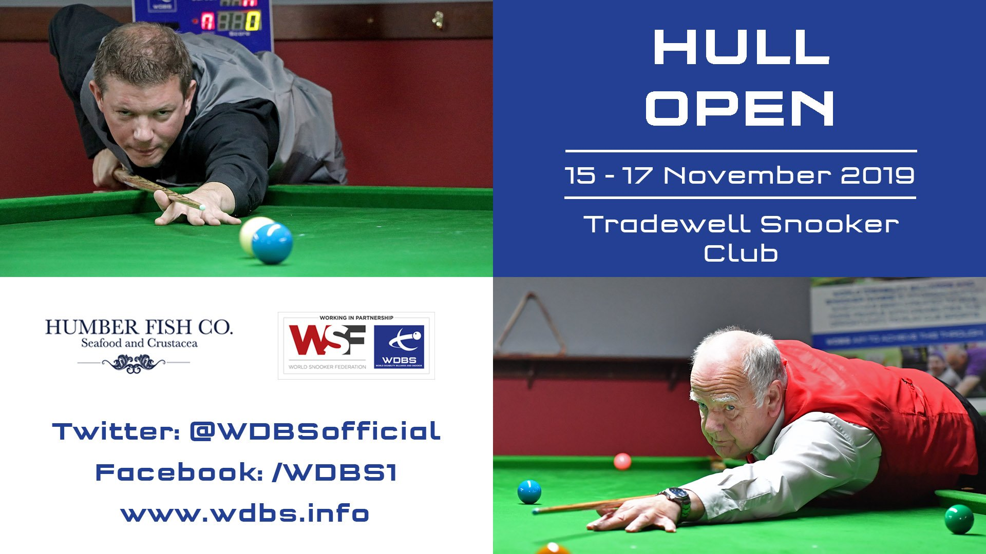WDBS Hull Open 2019 banner