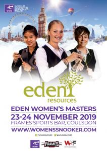 Eden Women's Masters 2019